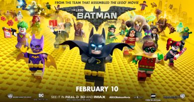 LEGO Batman Movie In Theaters January 10!